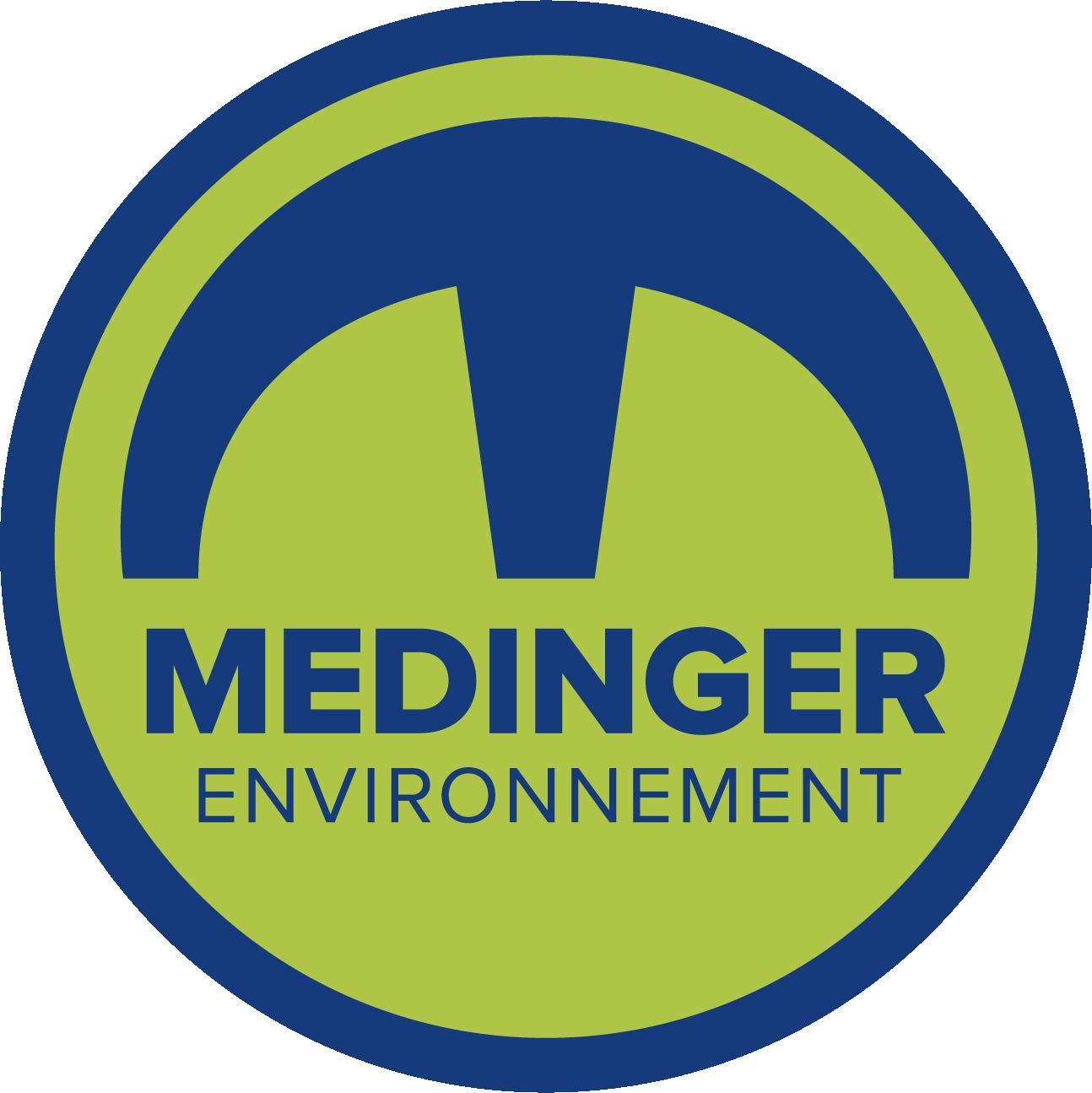 Logo medinger environnement - mymat