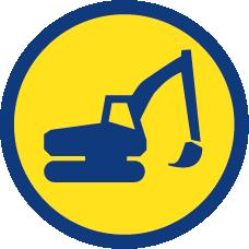 logo medinger Terrassement travaux public gros oeuvre
